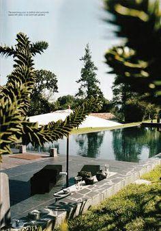 Lagerfeld house in Biaaritz, Basque Coast