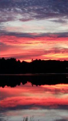 Sunset lake ashburnham ma  Vbm / peter robichaud