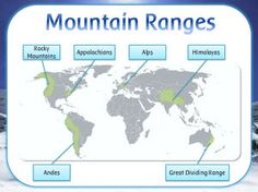 MOUNTAINS display resources - heading, posters & vocabulary - KS2 Geography topic : Images Classroom Displays, Classroom Ideas, Project Based Learning, Biomes, English Language, Geography, Vocabulary, Homeschool, Mountain High