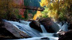 Eldorado Canyon State Park, a favorite hiking and climbing spot near Boulder, Colorado