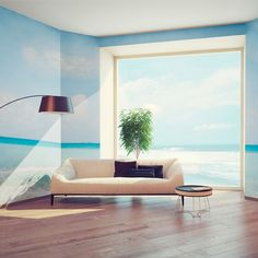 Continue your view onto your #walls with #murals!