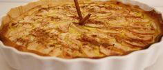 Tarte de Maçã e Leite Condensado - http://www.receitasja.com/tarte-de-maca-e-leite-condensado/