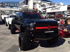 "Wheel Offset 2008 Chevrolet Silverado 2500hd Super Aggressive 3"" Suspension Lift 9"" Custom Rims"