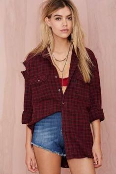After Party Vintage Surefire Flannel | Shop After Party at Nasty Gal