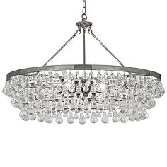 Buy the Robert Abbey Polished Nickel Direct. Shop for the Robert Abbey Polished Nickel Bling 6 Light Chandelier and save. Round Chandelier, Large Chandeliers, Modern Chandelier, Chandelier Lighting, Robert Abbey Lighting, Polished Nickel, Antique Brass, Bling Bling, Bronze