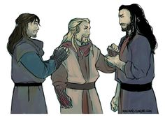 Fíli: If he is staying, so am I!! Kíli: F-Fili, no! Go, I will be fine! Fíli: No, you will not!! Thorin: Fíli, come on! You and I know that this is what you don't really want to stay in Lake town! Fíli: I will not leave my wounded brother alone!!