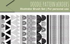 Free & Unique Brushes for Adobe Illustrator
