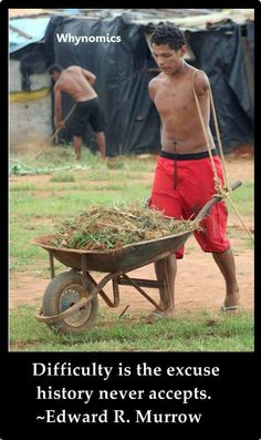 Some people without a handicap cry and complain why they can't work...  others WORK!