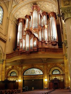 Mander Organ (1993) at the Church of St. Ignatius Loyola Church - New York City (photo: Steven E. Lawson)