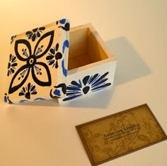 crafts using jewelry boxes | Smile Jewelry Box - Hand Painted Wood Crafts - Mexican Jewelry Boxes ...