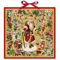 Advent Calendar Santa Father Christmas