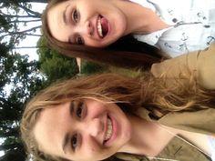 Day 30: Selfie: Stephanie Brint (with Kelsey Kryger)