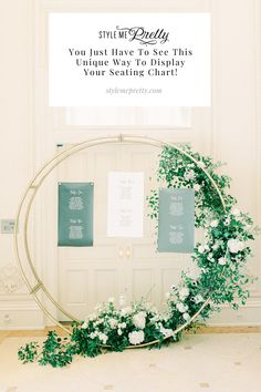 Just wait until you see this unique escort card display created by @cecedesignsllc! 😍 We're sharing the full gallery captured by LBB member @bransonmaxwell.photo on SMP.com along with all the timeless touches that you do not want to miss! #escortcarddisplay #weddingseatingchart #weddingideas #weddingdecor