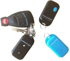 """Amazon.com: FIND MY KEYS by """"Where's the Remote?"""" LLC Wireless RF Transmitter & Receivers, Remote Locator, Wallet, Pet, Cell phone: Electron..."""