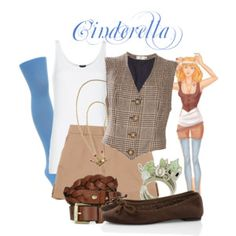 Hipster Disney Princess Collection - Polyvore