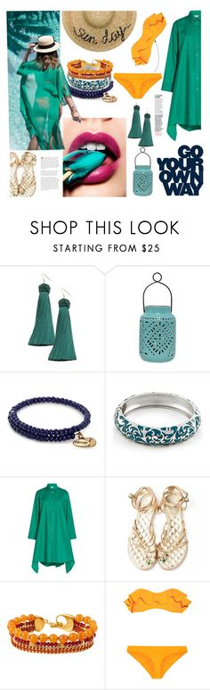 """Your own way"" by andreamilles ❤ liked on Polyvore featuring Vanessa Mooney, Alex and Ani, Balenciaga, Chanel, Henri Bendel, Lisa Marie Fernandez and Eugenia Kim"