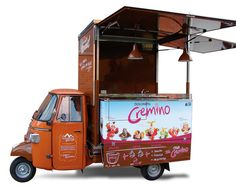 food truck ape gelato artigianale e cremino - Eis Cafe Dolomiti