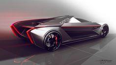 Cadillac LMP-09 Vision Gran Turismo Concept Car by Arthur B. Nustas