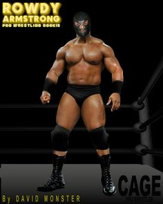 """Meet CAGE, the Masked Pro Wrestler from """"parts unknown"""" with the face no one's every seen, from the www.RowdyArmstrong.com Series of Novels & the www.allworldsprowrestling.com Game. Wrestling Games, Wrestling News, Red Hair, Brown Hair, Black Hair, Scott Evans, Confused Feelings, Parts Unknown, Jersey Boys"""