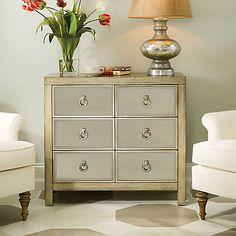 Hammary Hidden Treasures Mirrored Drawer Cabinet