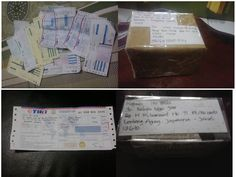 Bukti Kirim Paket Madu Asli Istana Ramuan Ibu Shihab Cianjur.