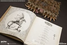 Harry Potter Fans- That Monster Book of Monsters Replica Comes With a Real Textbook