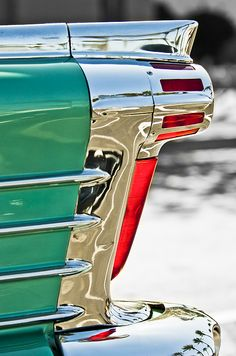 1958 Oldsmobile 98 Taillight - Car Images by Jill Reger