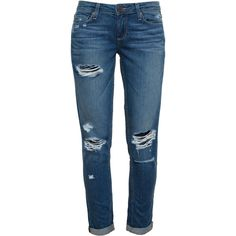 Paige Denim are known for making high-quality flattering jeans with a soft handle and a stretch that doesn't cause them to lose their shape. The 'Jimmy Jimmy S…