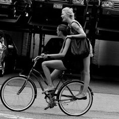 Cute Girls On Bikes - Fashion, Fun, Models, New York