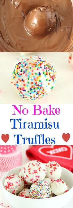 Rich, creamy and delicious No bake Tiramisu Truffles are a perfect Valentine treats. These bite size truffles are very easy to put together and are made with just 6 simple ingredients!