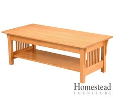 Lakota Coffee Table The focus is on the craftsmanship Lakota Coffee Table, making it a perfect fit for the craftsman mission style.  Quarter sawn oak is an obvious choice for this chest of drawers, but additional woods and finishes are available to suit your tastes. Pair it with other Mission pieces to complete your craftsman mission room design. http://homesteadfurnitureonline.com/occasionals_lakota-coffee-table.html