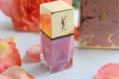 YSL Rose Scabiosa La Laque Couture Nail Lacquer Review