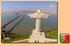 Europa Sites: Cristo Rey de Lisboa. Lugar inolvidable , con Lisboa a sus pies. Conozca más de este monumento en http://europasites.blogspot.com.es/