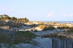 Hunting Island State Park Beach, South Carolina, USA