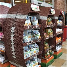 Cape Cod Fall Football Display Lineup Cape Cod Potato Chips, Fall Football, Point Of Purchase, Store Fixtures, Lineup, Super Bowl, Hooks, Retail, Display