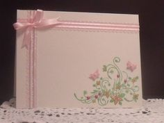 love how the ribbon is used on this card