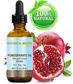 Botanical Beauty Pomegranate Oil possesses a remarkable ability to nourich moisturize and improve skin elasticity improve skin tone and gives your skin a healthy glow. It also balances pH and after ...