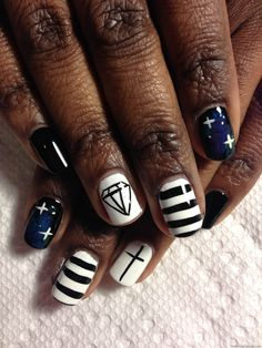 365 days nail art