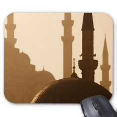 Two Mosques Mouse Pad