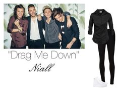 """""""""""Drag Me Down"""" Photo Shoot ~ One Direction ~ Girl Versions ~ Niall"""" by hanakdudley ❤ liked on Polyvore"""