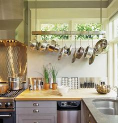 I vowed to hand my pots/pans in our new house - need to find a fun way!