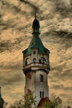 Faro en Sopot, Polonia