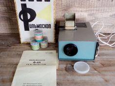 Vintage Filmstrip Projector Slide Film by GuestFromThePast on Etsy