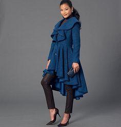 M7256, Misses' Coats
