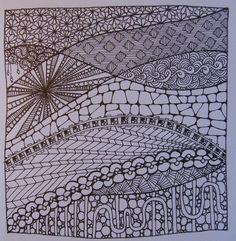 Zentangle No.6