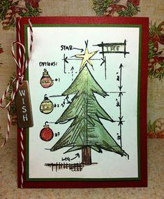 Richele Christensen: Perfect Pearls Christmas Tree Card http://californiaartgirl.blogspot.com/2012/11/perfect-pearls-christmas-tree-card.html