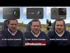 Comparison of YI GoPro black & YI Action Camera shot in with with Image Stabilization (EIS) and Audio Test. More info: ▼ Camera Specs . Home Camera, Waterproof Camera, Gopro Hero 4, Sports Camera, Camera Shots, Camera Reviews, Wide Angle, Sd Card
