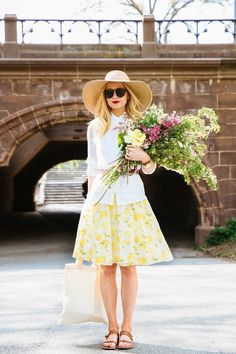 :: A Central Park Story :: @Ann Taylor  @Bess Friday @BRRCH Floral