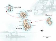 been to all of these.. Bora Bora - Taha'a- Raiatea and Huahine