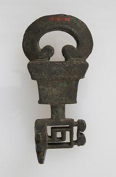 Key Date: 1st–7th century Culture: Roman Roman Artifacts, Historical Artifacts, Ancient Artifacts, Under Lock And Key, Key Lock, Antique Keys, Vintage Keys, Art Romain, Door Knobs And Knockers